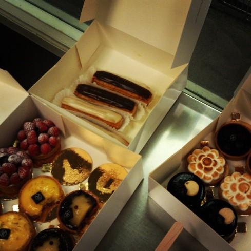 Eric Kayser Boulanger treats.