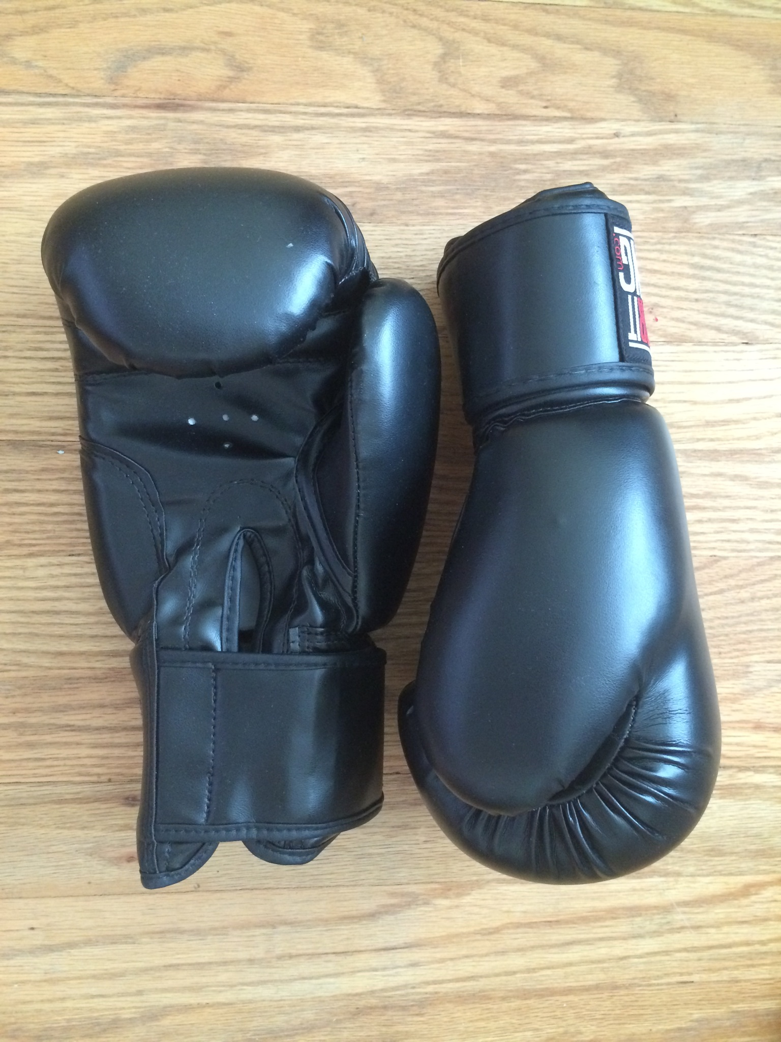 My gloves. They also came in pink, but I'll always prefer black.