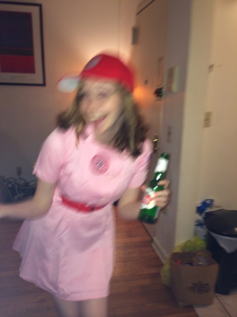 All American Girls Professional Baseball League: Rockford Peach for Halloween
